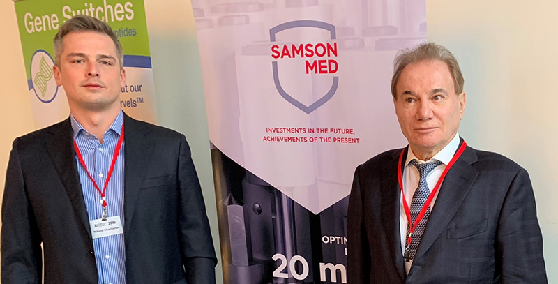 Самсон-Мед на симпозиуме экспертов «Эффективные современные методы и средства в антивозрастной медицине и геронтологии»